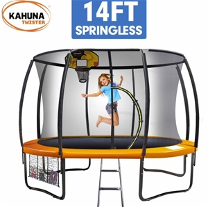 Kahuna Twister 14ft Springless Trampolin