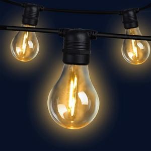 23m LED Festoon String Lights Kits Weddi