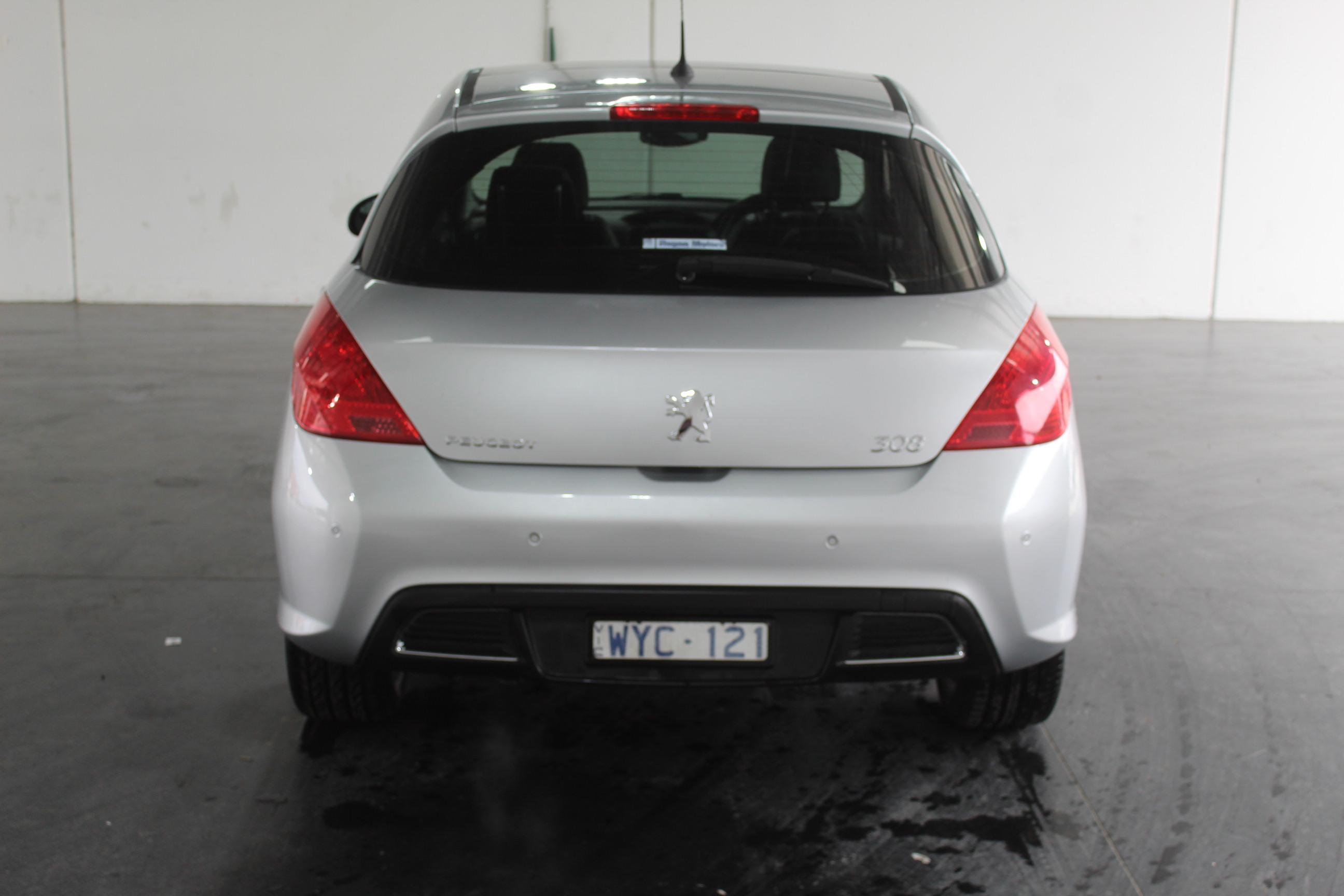 2009 Peugeot 308 XTE Turbo Automatic Hatchback Auction ...