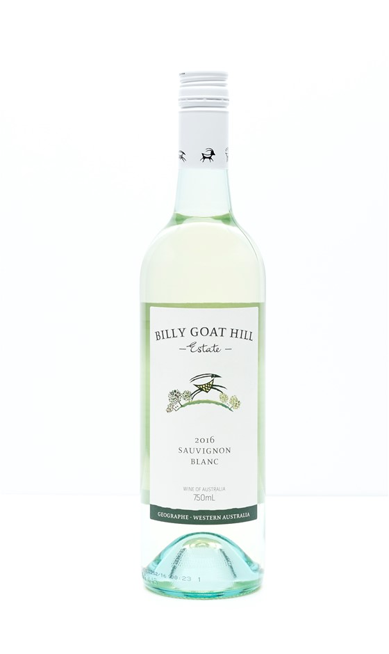 Billy Goat Hill Sauvignon Blanc 2016 (12 x 750mL) Geographe, WA