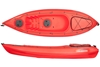 The Encore 2.7m Kayak Including Seat And Paddle - Red. By Wavedance Kayaks