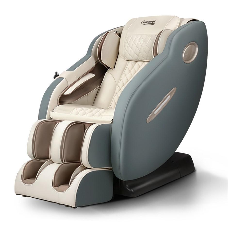 Livemor 3D Electric Massage Chair Body Massager Air Bags Shiatsu Massaging