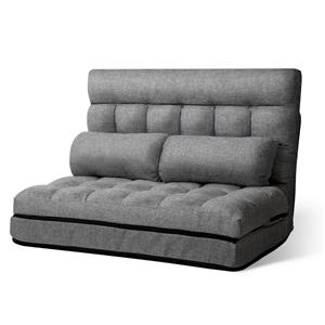Artiss Lounge Sofa Bed DOUBLE Floor Recl