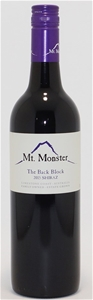 Mt Monster The Back Block Shiraz 2015 (1