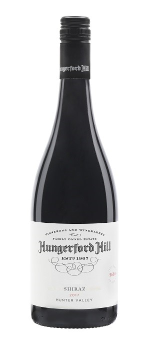 Hungerford Hill Classic Hunter Valley Shiraz 2017 (6 x 750mL), NSW.