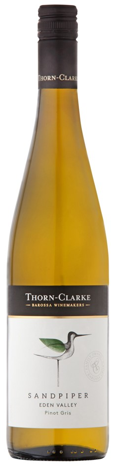 Thorn-Clarke Sandpiper Pinot Gris 2018 (6 x 750mL), Eden Valley, SA.