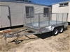2019 New Galvanised Dual Axle 12' x 6' Box with Cage