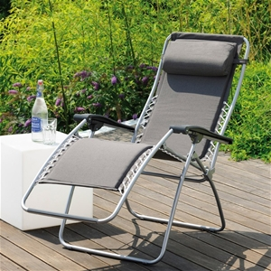 2 X Portable Folding Reclining Chair Out