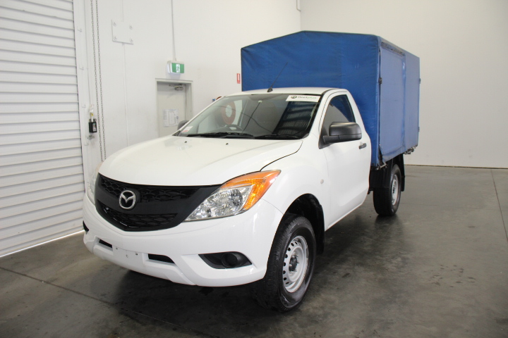 2014 Mazda BT-50 4X2 XT Turbo Diesel Automatic Cab Chassis