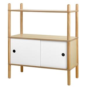 Artiss Display Cabinet Storage Shelves C