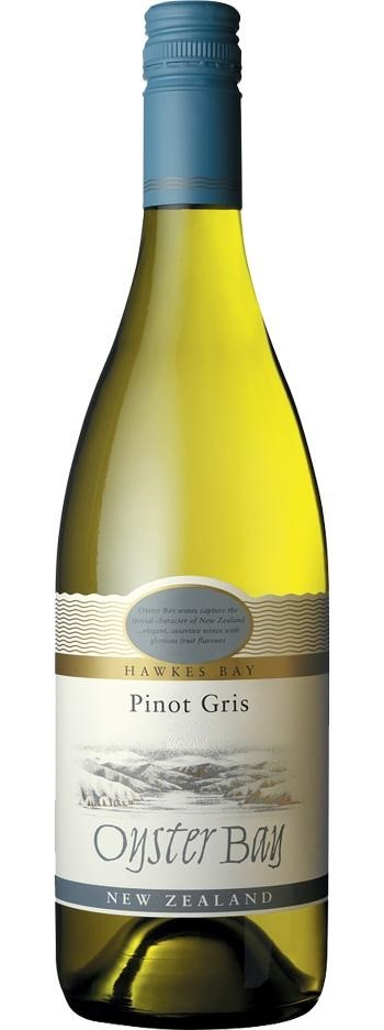 Oyster Bay Pinot Gris 2018 (6 x 750mL), Hawke's Bay, NZ.