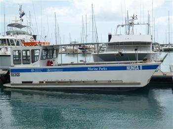 1994 7.4m Aluminium barge