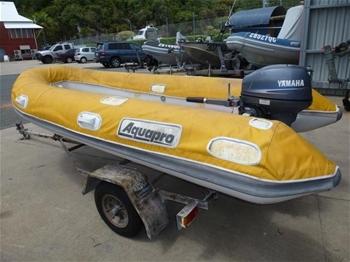 2008 3.4m Aquapro Rib