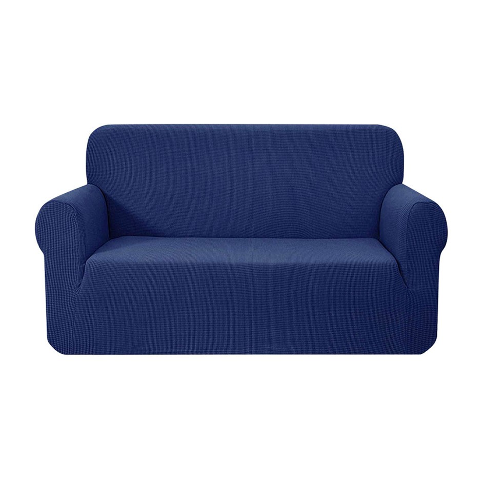 Artiss High Stretch Sofa Lounge Protector Slipcovers 2 Seater Navy