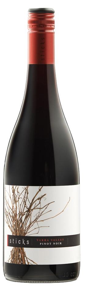 Sticks Pinot Noir 2018 (6 x 750mL), Yarra Valley, VIC.