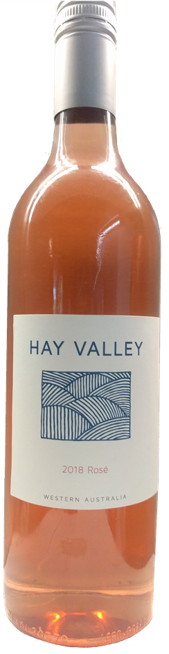 Hay Valley Rosé 2018 (12 x 750ml) Great Southern, WA
