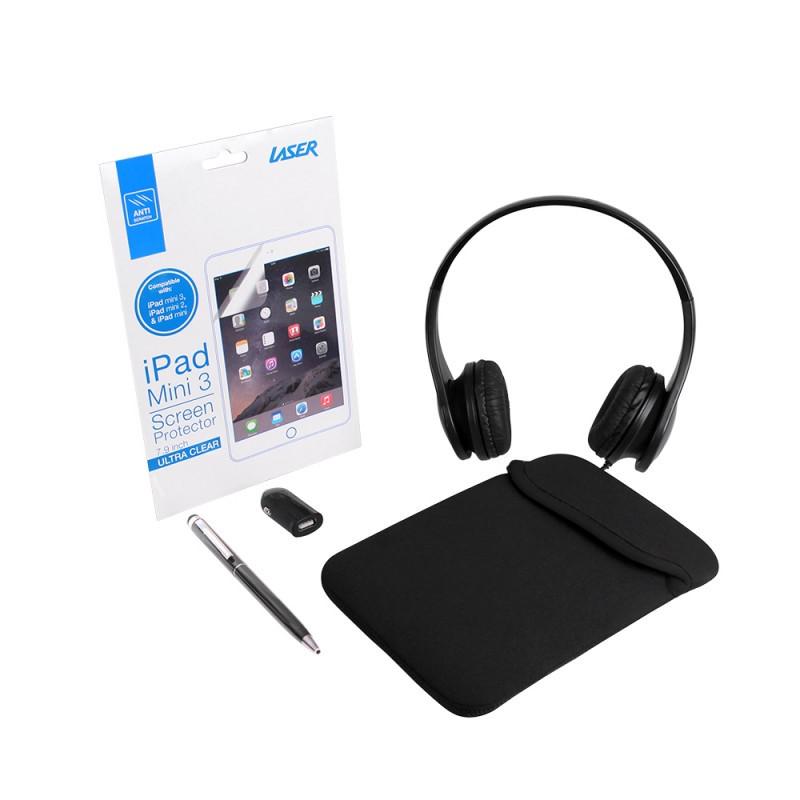 Laser 5 In 1 iPad Mini Bundle Kit (Black) - BRAND NEW