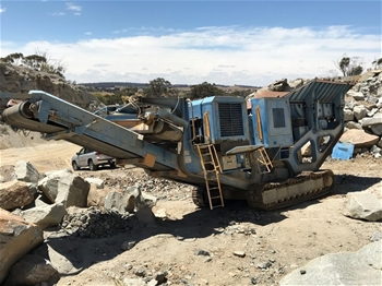 2005 Terex Pegson AX866 Track Mounted Mobile Jaw Crusher (LOCATED IN WAGIN)