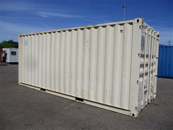 2 x 20 Foot Shipping Containers