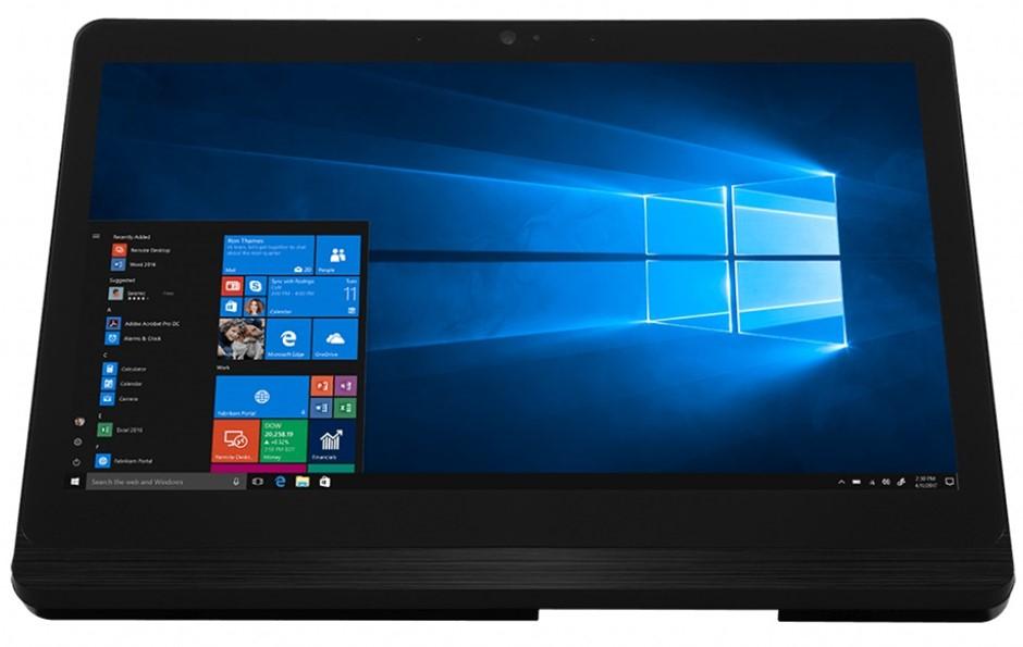 MSI Pro 16 FLEX 8GL-005XAU 15.6-inch HD Touchscreen AIO PC (Black-Sliver)