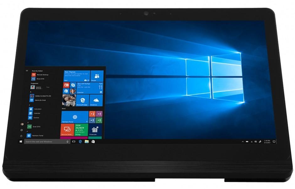 MSI Pro 16 FLEX 8GL-008AU 15.6-inch HD Touchscreen AIO PC (Black-Sliver)