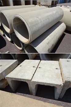 A large Quantity of Culverts & Pipes
