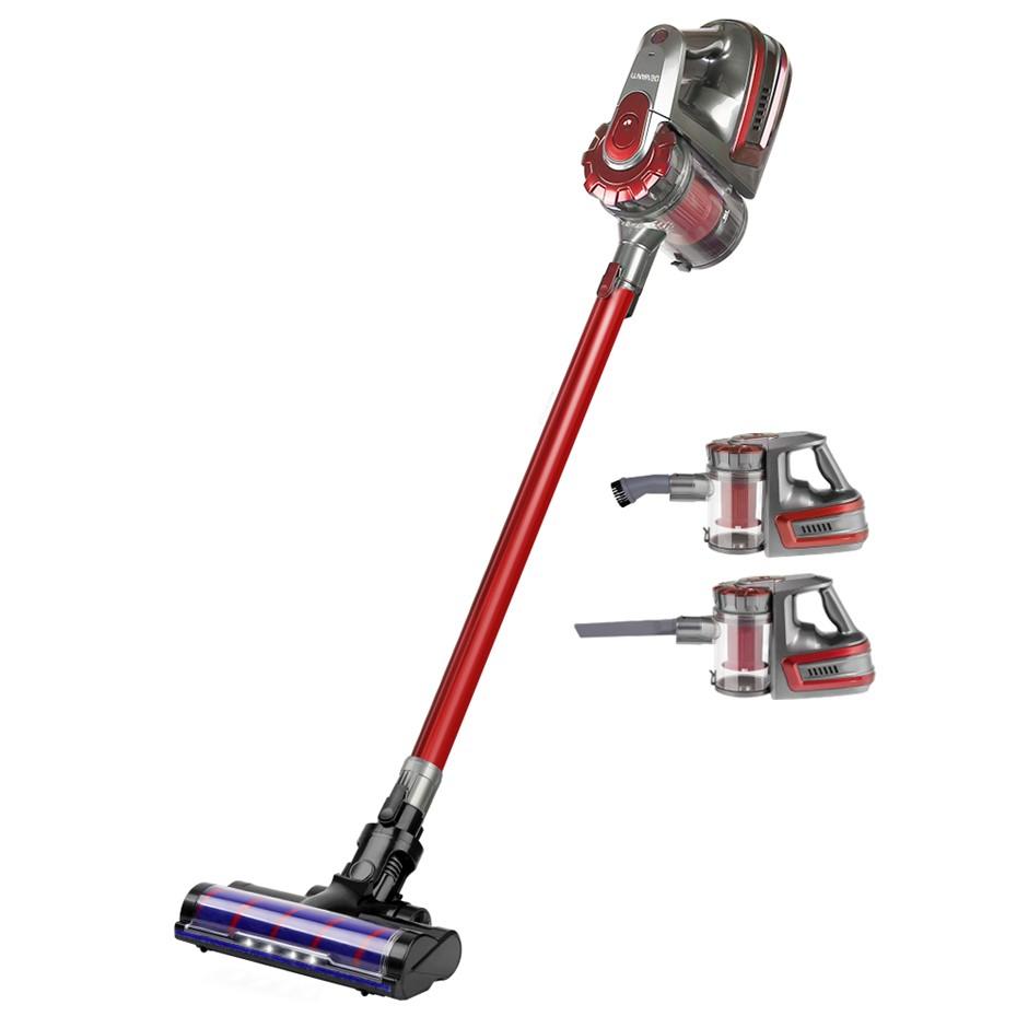 DEVANTI Stick Vacuum Cleaner Cordless Handheld Headlight 2-Speed 150W
