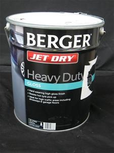 Berger 10L Paint, Jet Dry Heavy Duty Glo