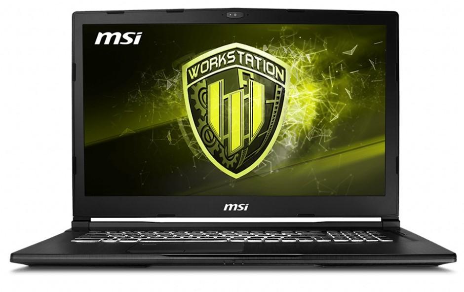 MSI WE63 8SJ-248AU 15.6-inch Full HD Mobile Workstation Notebook, Black