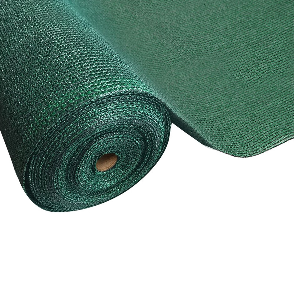 Instahut Garden Sun Shade Cloth Shadecloth Sail Roll Mesh Outdoor Green