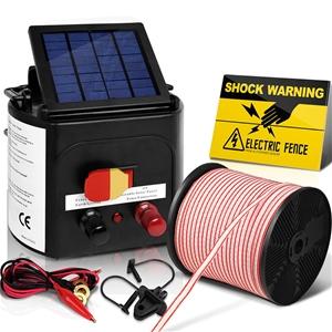 Giantz 3km Solar Electric Fence Energize
