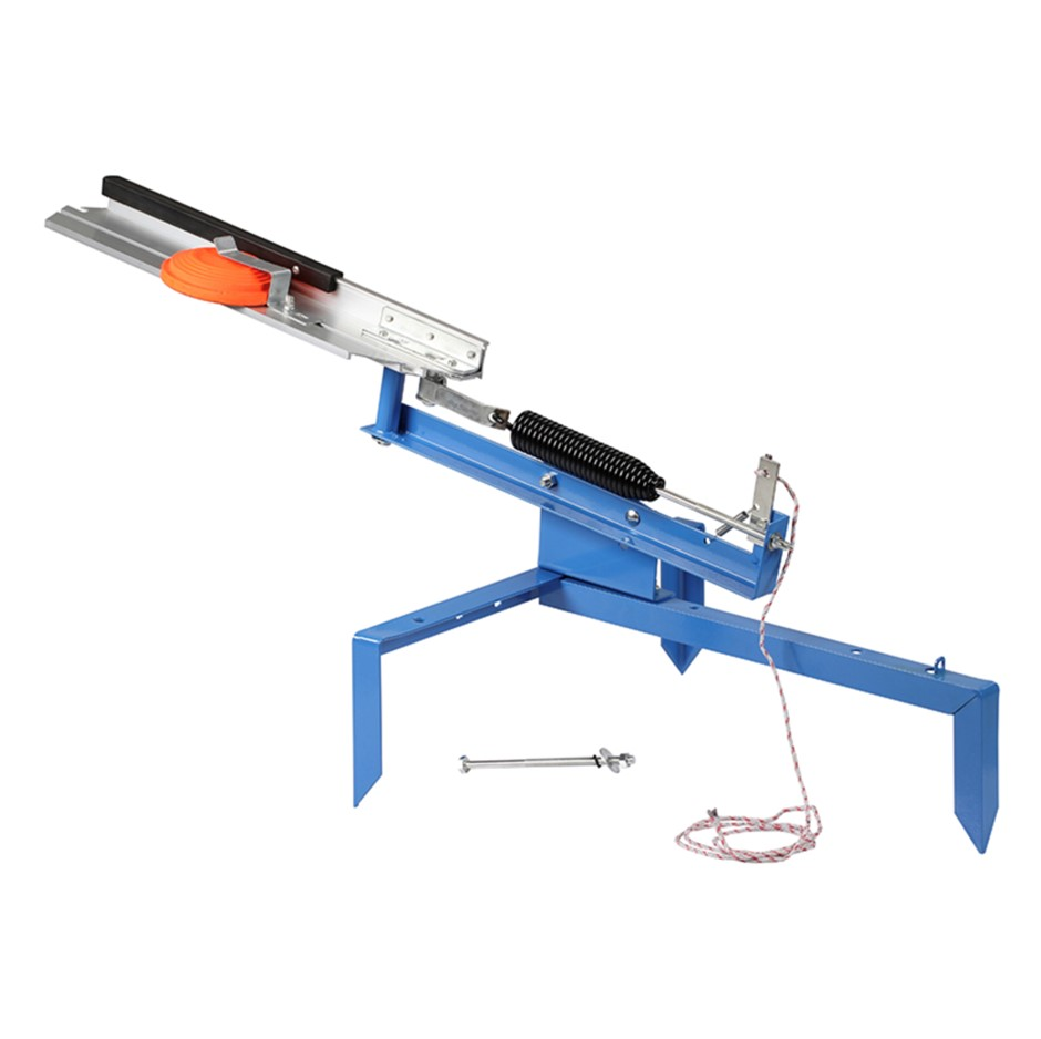 PRIMAX Manual Clay Target Thrower. Buyers Note - Discount Freight Rates App