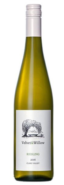 Velvet & Willow Riesling 2016 (12 x 750mL) Clare Valley, SA