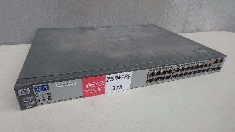 HP J4900B Procurve Switch 2626