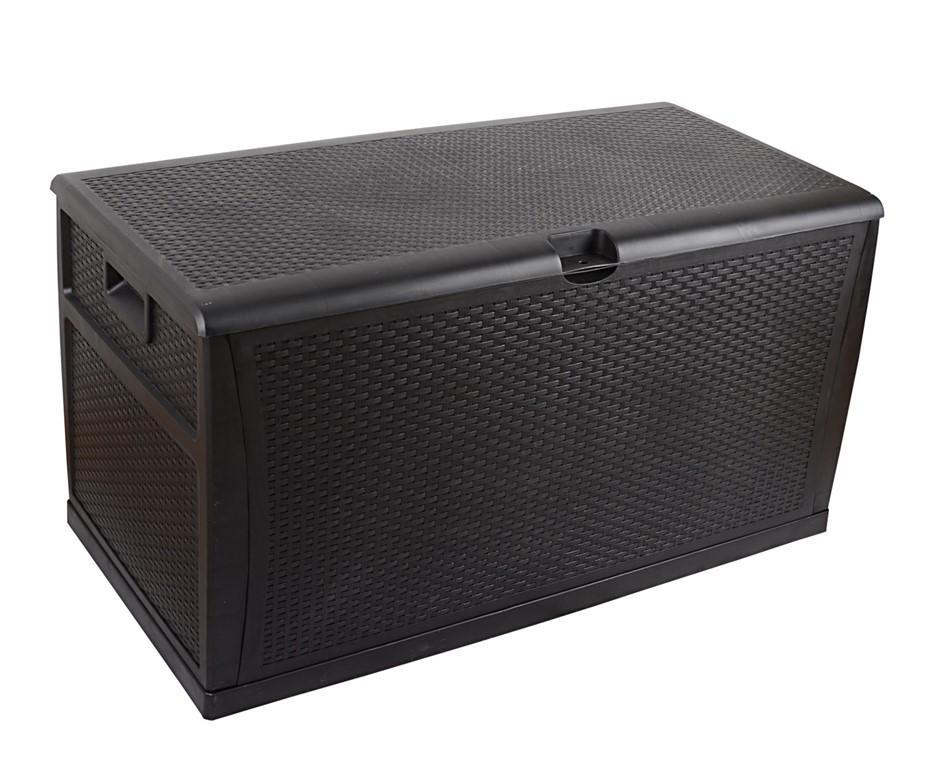 Patio Deck Box Outdoor Storage Plastic Bench Box 450 Litre