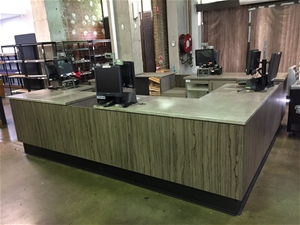 Custom Built Check Out Counter