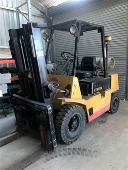 Hyster H2.50XL Dual Fuel Forklift