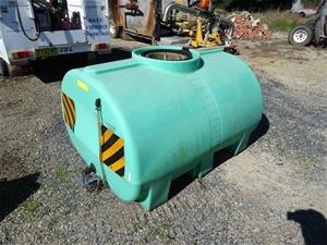 Rapidspray tank
