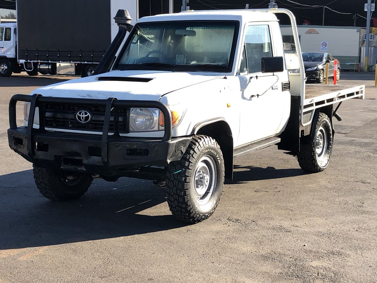 2011 Toyota Landcruiser Workmate (4x4)VDJ79R Turbo Diesel Manual CabChassis