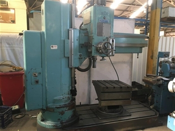 MAS VR5A Radial Arm Drill with Multi Angle Table