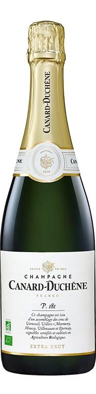 Canard Duchene `Parcelle 181` Extra Brut Bio NV (6 x 750mL), Champagne.
