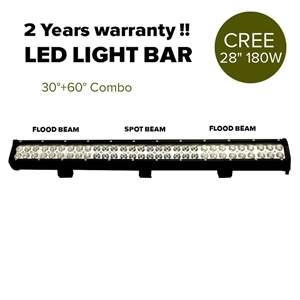 "28"" 180W Cree LED Light Bar Spot Floodli"