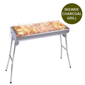 SOGA Skewers Grill Portable S/Steel Char
