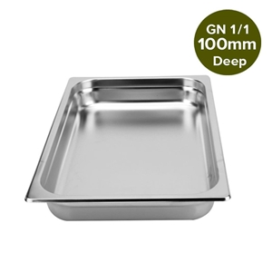SOGA Gastronorm GN Pan Full Size 1/1 100
