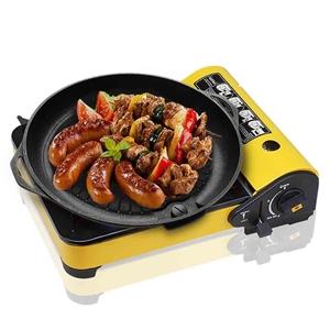 Portable Butane Stove Gas Burner Yellow