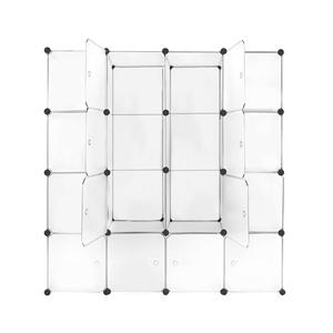 DIY 16 Cube Storage Cabinet Shoe Rack Sh