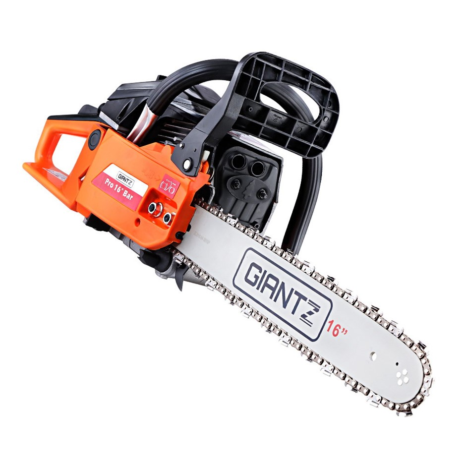 GIANTZ 45cc Commercial Petrol Chainsaw E-Start Chains Saw Tree Pruning