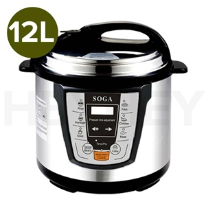 SOGA Electric Stainless Steel Pressure C