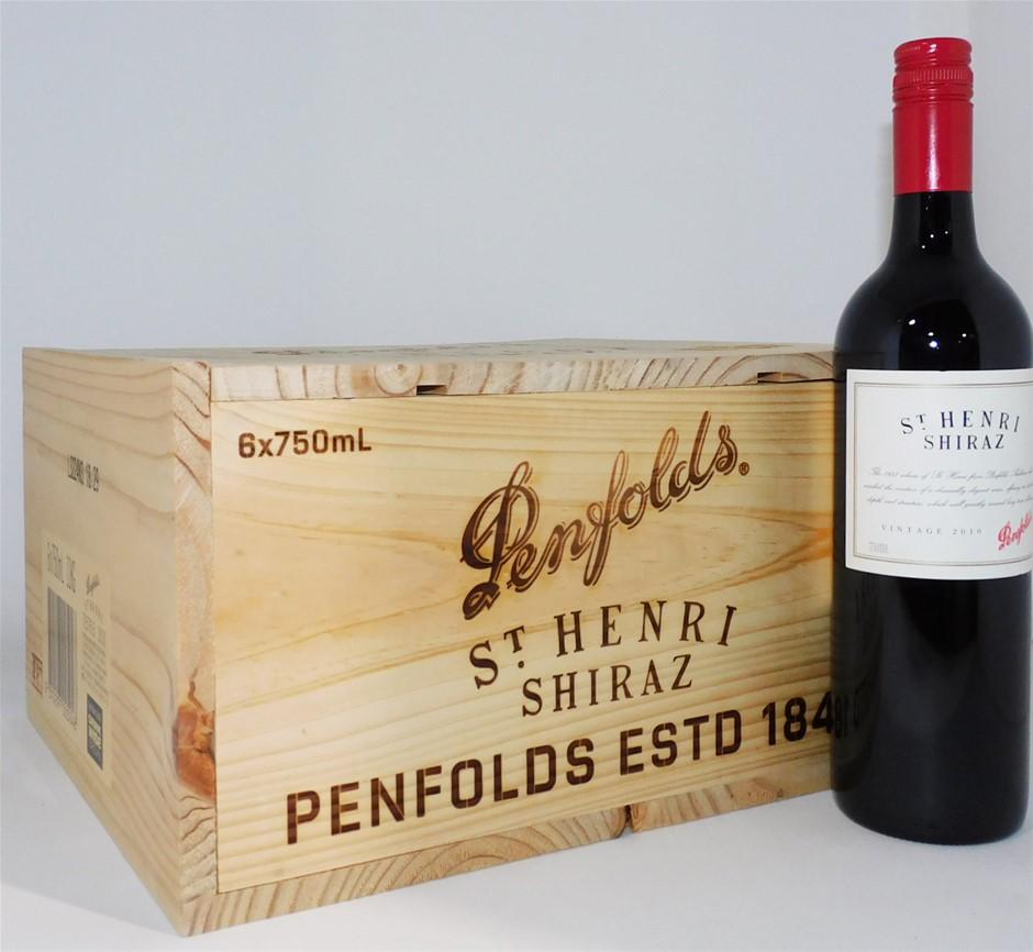 Penfolds `St Henri` Shiraz 2010 (6 x 750mL), SA.