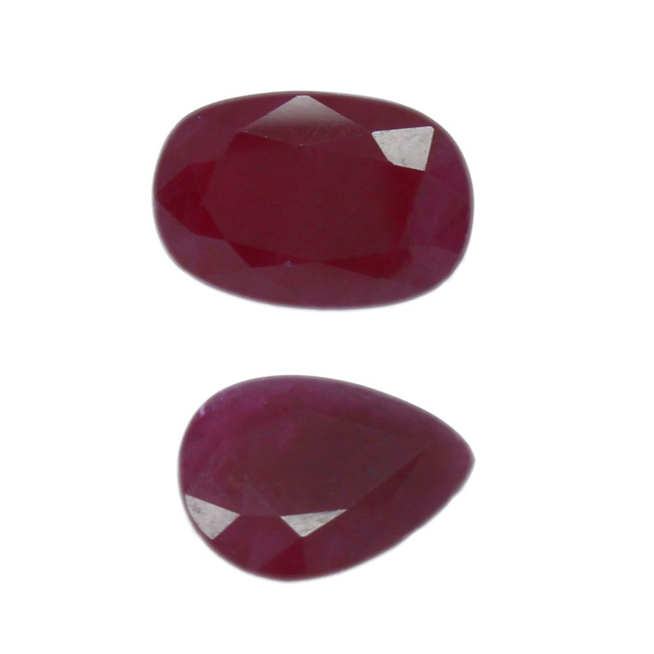 Two Loose Ruby 7.30ct in Total